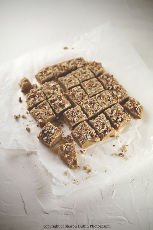 Pecan and Maple Fudge