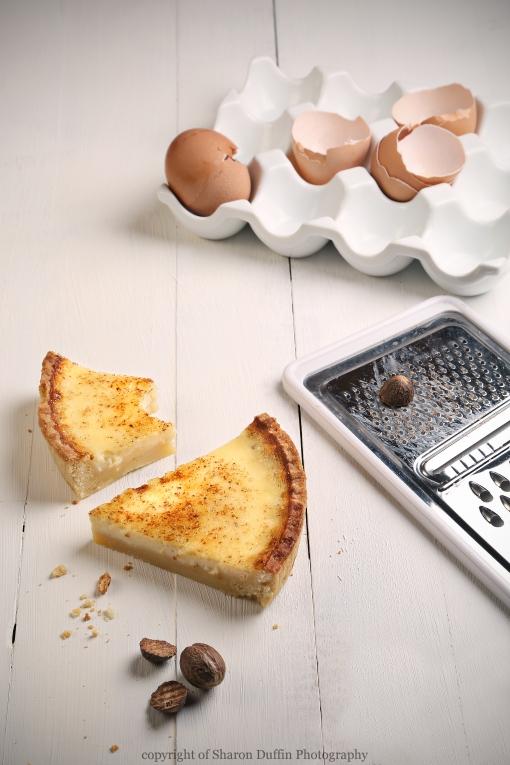 Custard Tart Slices